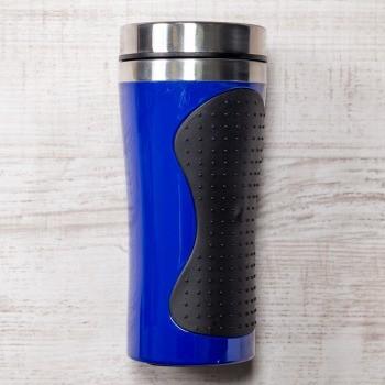 Синяя термокружка Олимпия