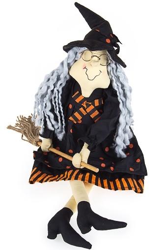 Декоративная кукла Ведьмочка