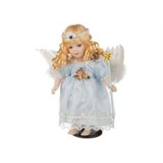 Фарфоровая кукла Ангелок с мягконабивным туловищем