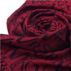 Мужской шарф винного цвета Versace