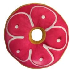 Подушка Пончик с клубничной глазурью