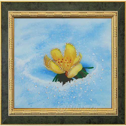 Картина Swarovski Под снегом