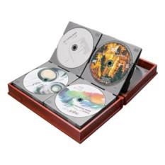 Чехол для CD в дервянной коробке