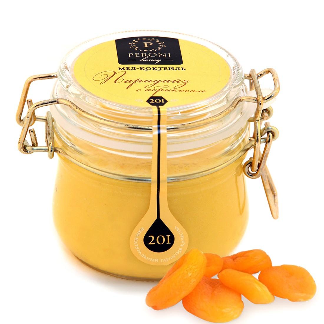 Мёд-суфле с абрикосом Парадиз, 250 мл