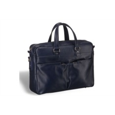 Вместительная синяя деловая сумка Brialdi Lakewood