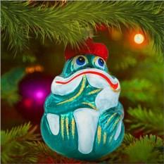 Елочная игрушка «Царевна-лягушка»