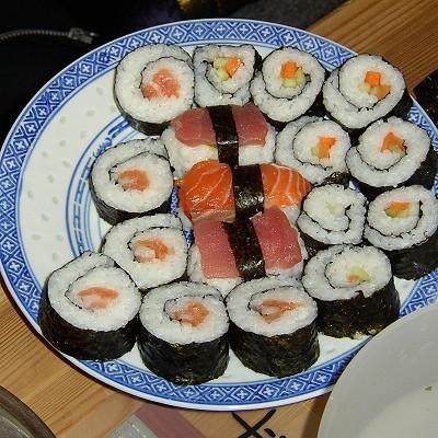 Мастер-класс по приготовлению суши для двоих