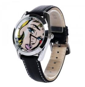 Часы Девушка из комикса
