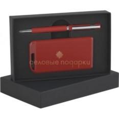 Красный прорезиненный набор Ручка и источник энергии