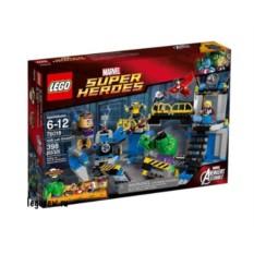 Конструктор Лего Супер Герои. Лаборатория Халка