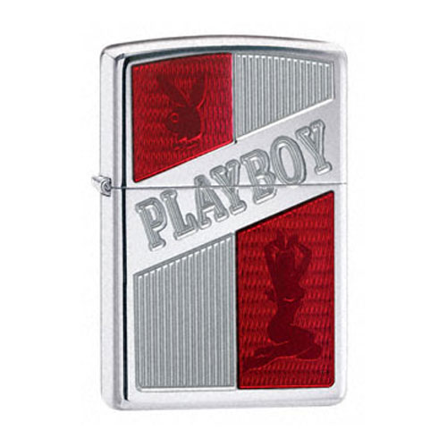 Зажигалка Zippo бензиновая Playboy Ruby Red