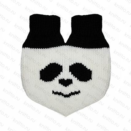 Варежки для влюбленных Панда