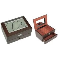 Двухярусная шкатулка для ювелирных украшений MORETTO