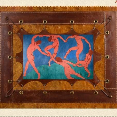 Картина из кожи Танец Анри Матисс