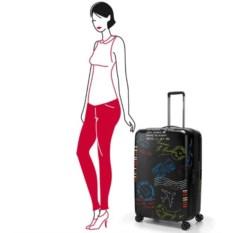 Чемодан 4-х колесный Suitcase L (95л)