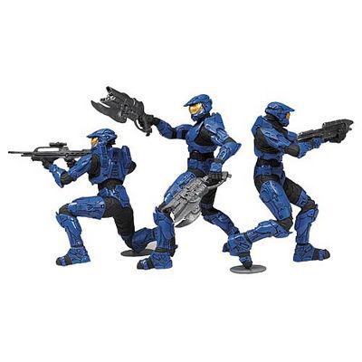 Набор фигурок Blue team
