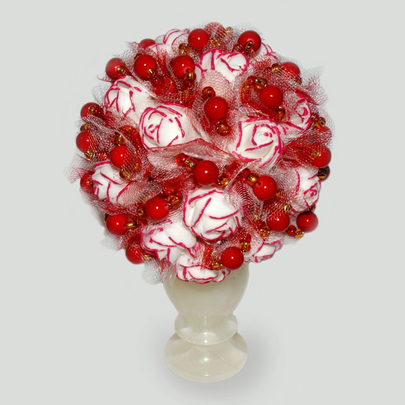 Цветы из коралла Танго любви