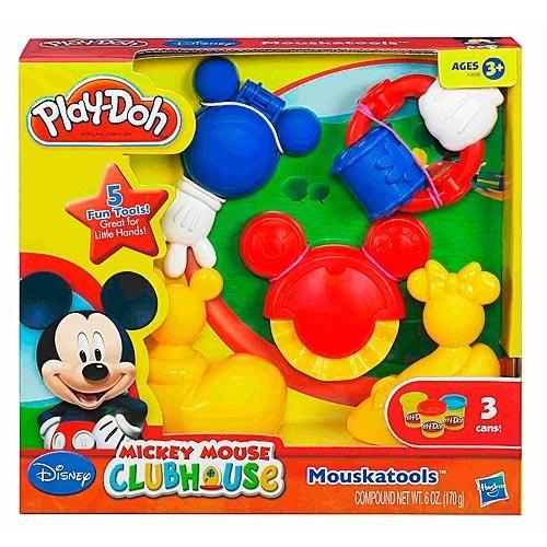 Набор пластилина Play-Doh Инструменты Микки Мауса