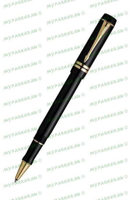 Ручка-роллер Parker Duofold International Black