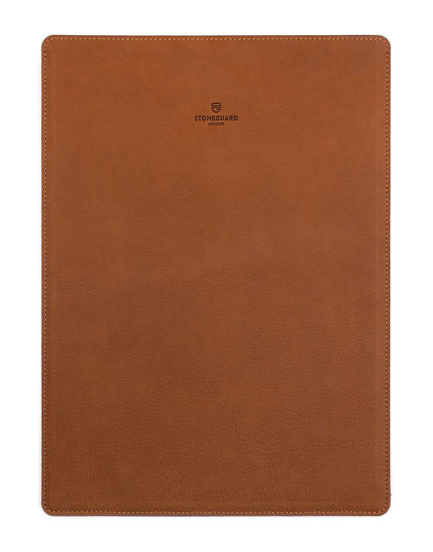Кожаный чехол для MacBook Pro 13 Retina (Sand)