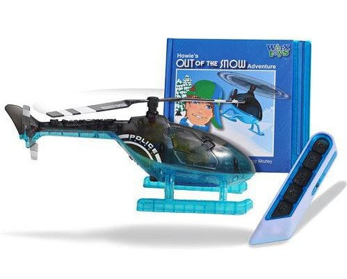 Радиоуправляемая игрушка «Вертолет» с книжкой