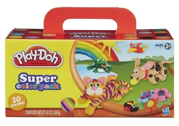 Пластилин для лепки (Play Doh)