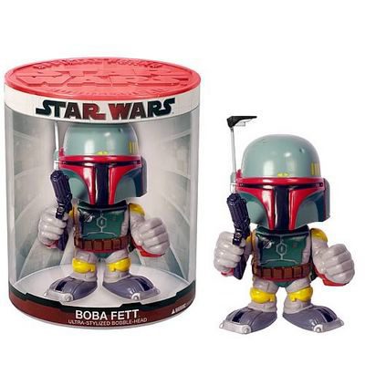 Фигурка Boba Fett Funko Force Bobble Head