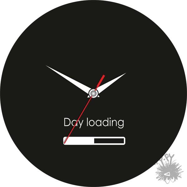 Часы День загрузки