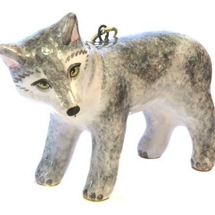 Ёлочная игрушка Волк (коллекция Петя и Волк)