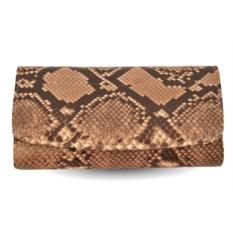 Женский кошелек из кожи питона (цвет - натуральный)