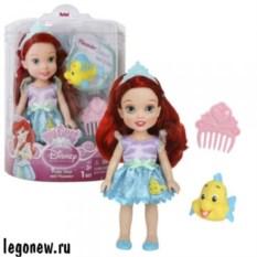 Кукла Disney Princess Малышка с питомцем от Hasbro (15 см)