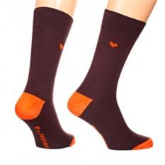 Носки Friday Heel, коричневый
