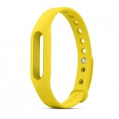 Сменный ремешок для фитнес-браслета Xiaomi Mi Band Yellow