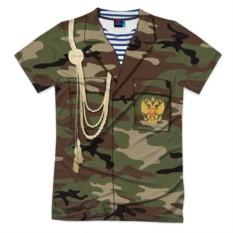 Мужская футболка 3D с полной запечаткой Армейская форма