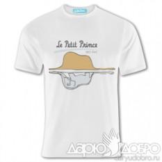 Мужская футболка Маленький Принц Удав