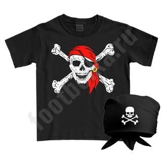 Детский костюм halloween Пират с банданой