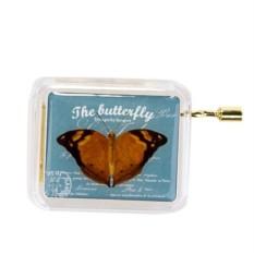 Музыкальная коробочка Butterfly Blue