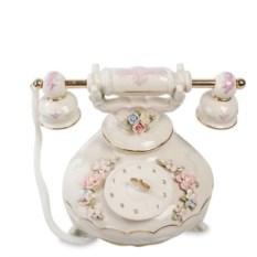 Музыкальная фарфоровая фигурка Телефон Pavone