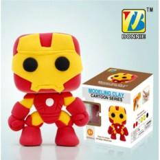 Супергеройский пластилин Железный Человек