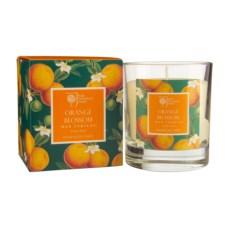 Ароматическая свеча Цветок апельсина в стекле