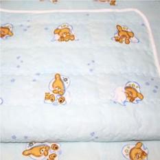 Двухстороннее стеганное одеяло-плед