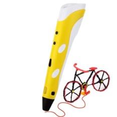 3D ручка Spider Pen Start Yellow и 40 метров пластика