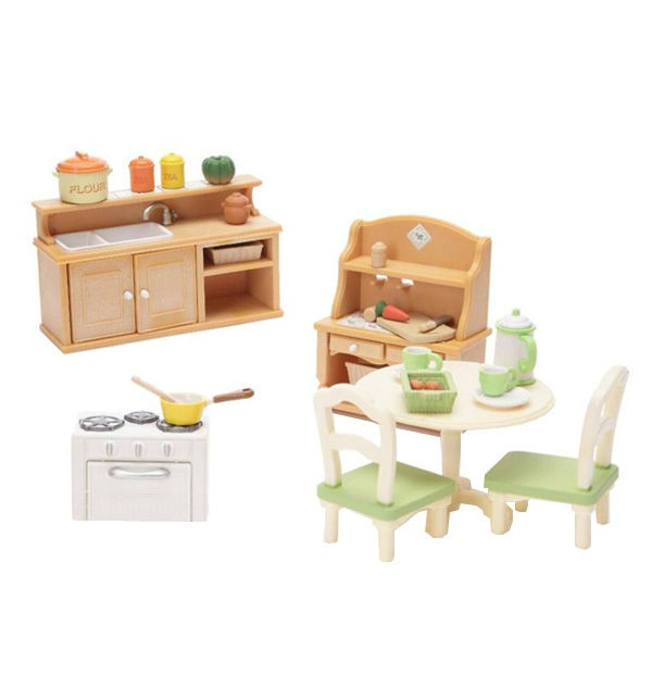 Игровой набор Кухня в коттедже