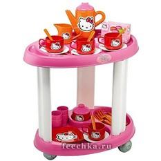 Этажерка с посудкой из серии Hello Kitty, Smoby