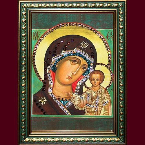 Икона Божией Матери Казанская, малая