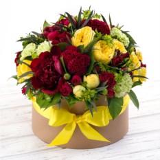 Букет цветов Карибский закат