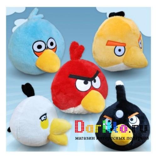 Мягкая игрушка брелок Angry Birds