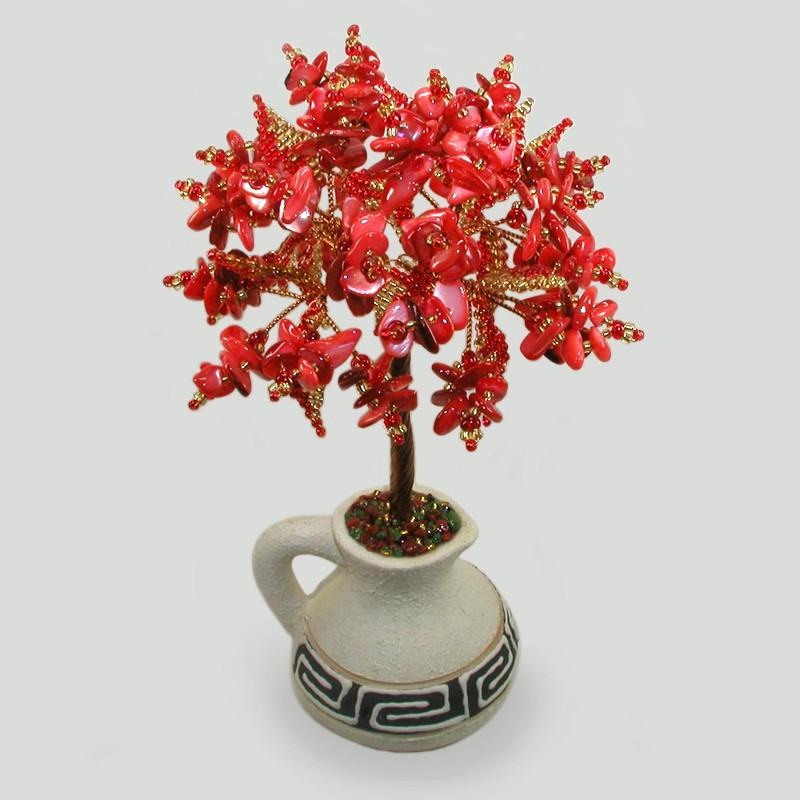 Дерево из коралла Богиня Гестия