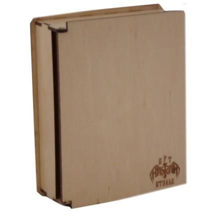 Деревянная коробка для ежедневника