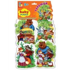 Мягкий пазл Baby puzzle Теремок